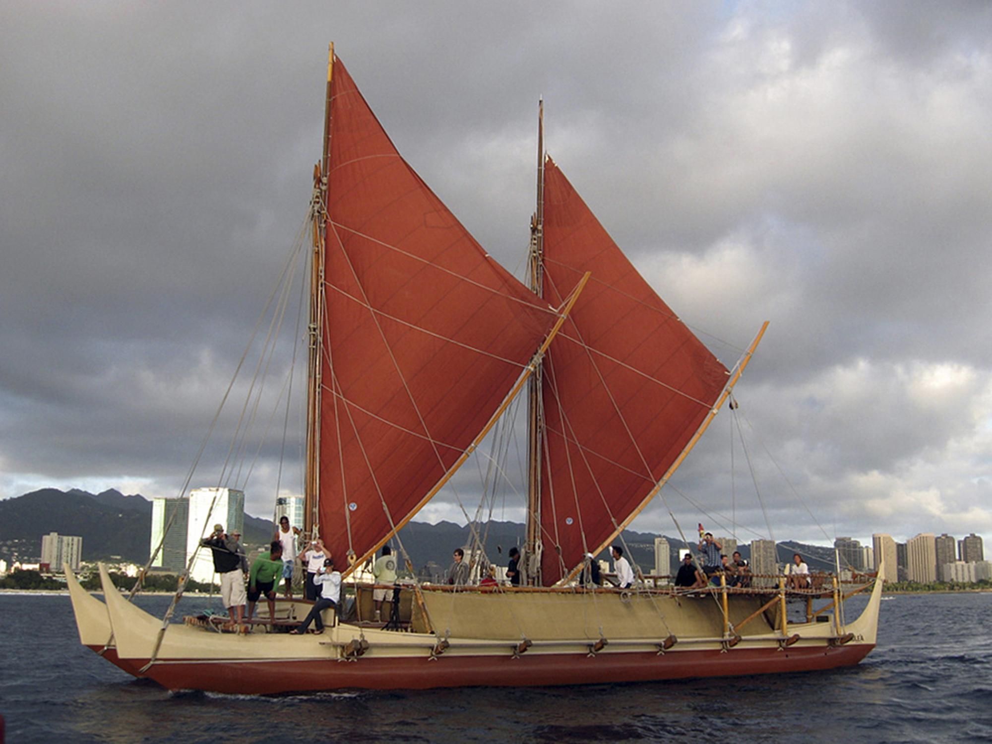 Hawaiian Voyaging Canoe Time And Navigation