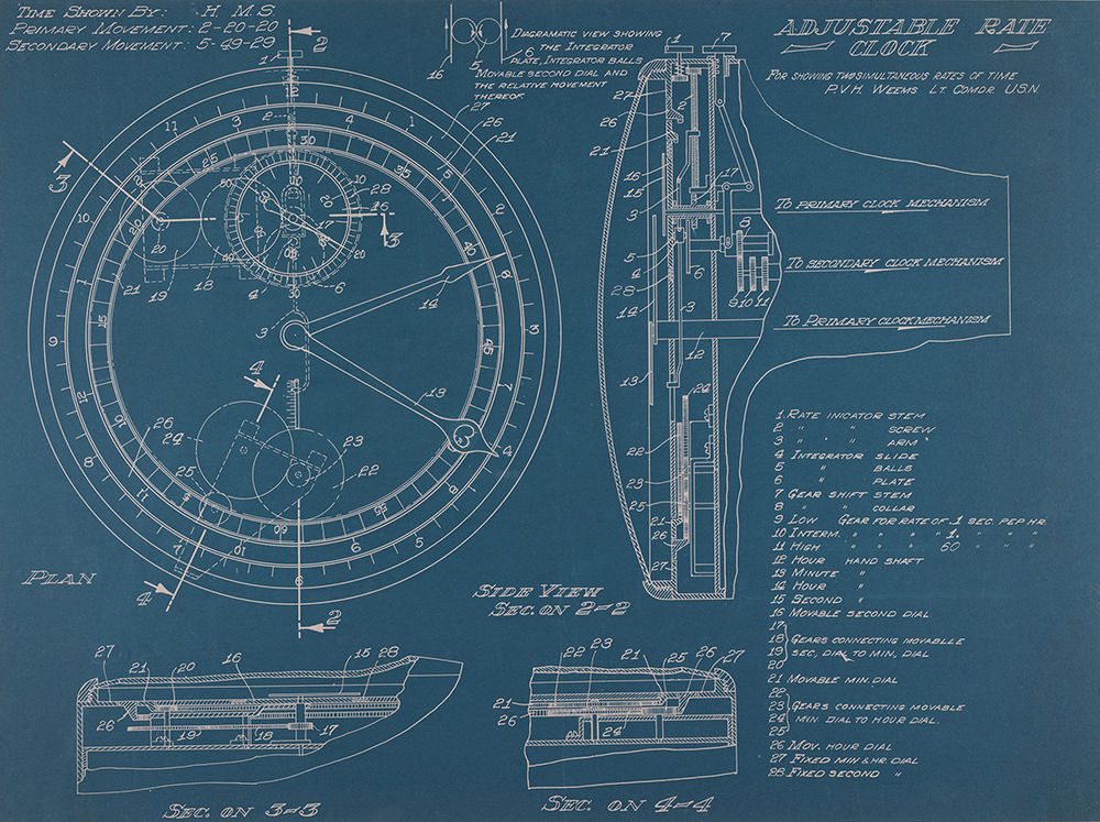 Weems second setting watch blueprint time and navigation malvernweather Choice Image