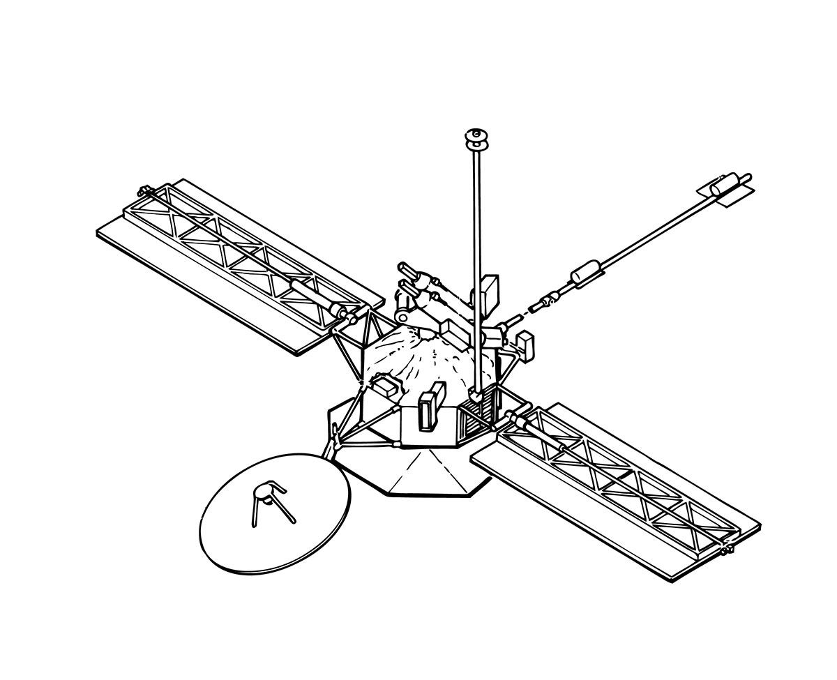 Mariner 10 Spacecraft | Time and Navigation