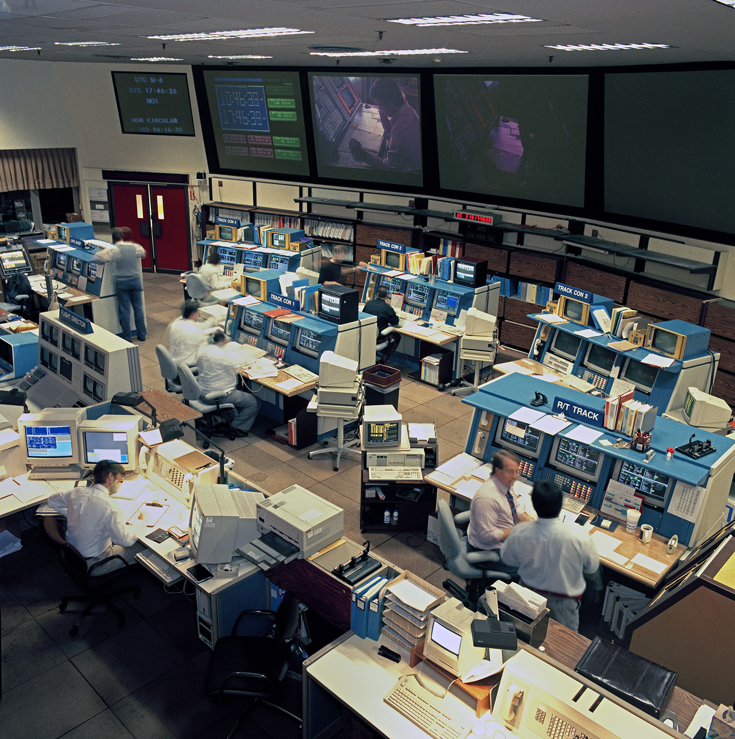 Deep Space Operations Control Room | Time and Navigation