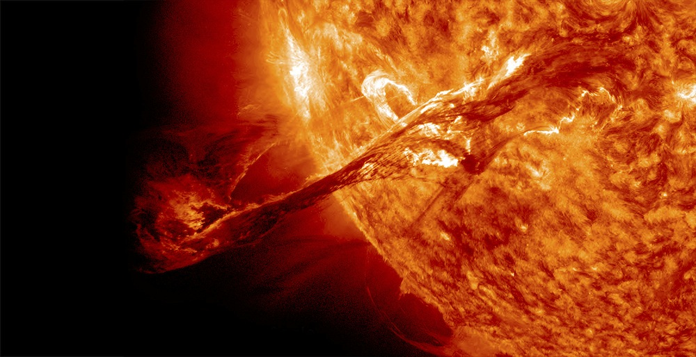 Solar Flare Time And Navigation