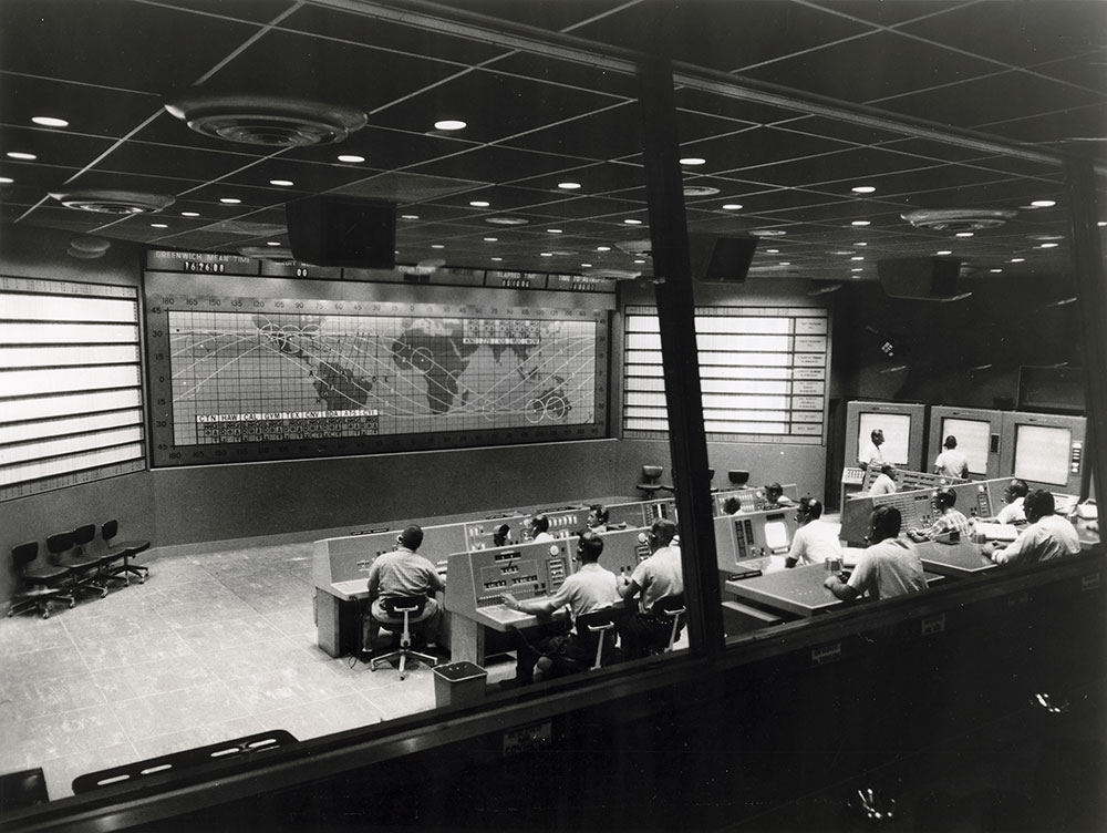 Mercury Control Room Time And Navigation