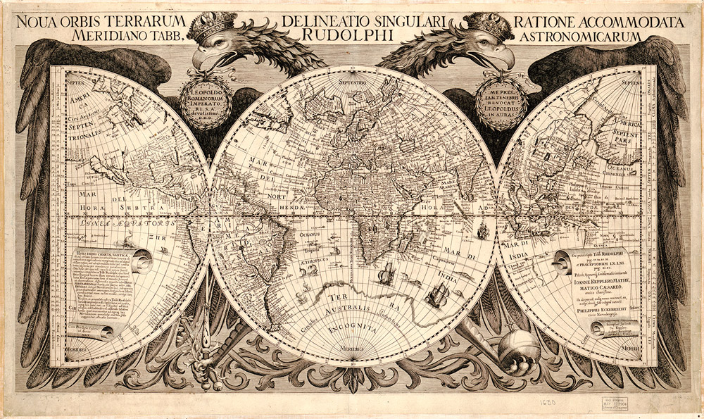 World Map Time And Navigation